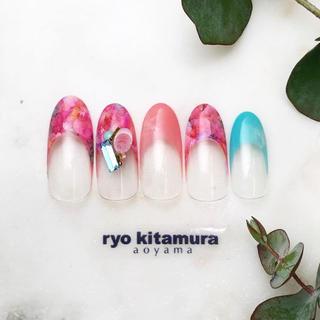 【m.d.a mayu × ryo kitamura コラボ企画】Relaxing Flower
