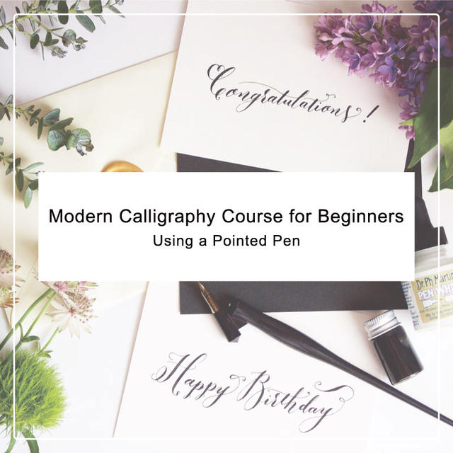 Modern Calligraphy Course for Beginners