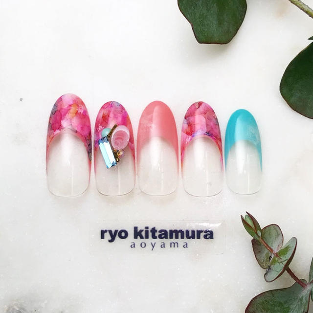 【m.d.a mayu × ryo kitamura Collaboration】Relaxing Flower