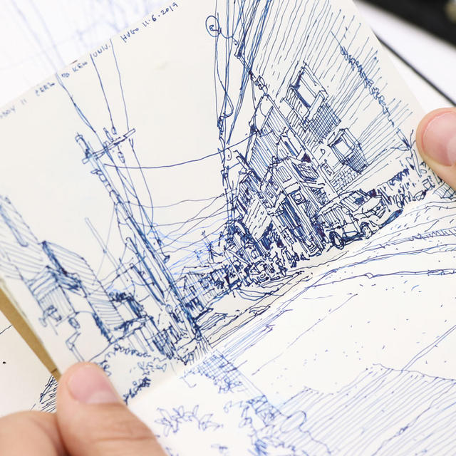 Urban Sketching: 1-Point Perspective