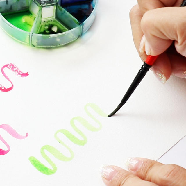 Watercolor Lettering Basic Package