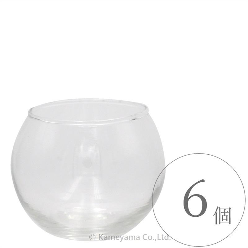 バブルボールグラスSフィルム付き 6個セット