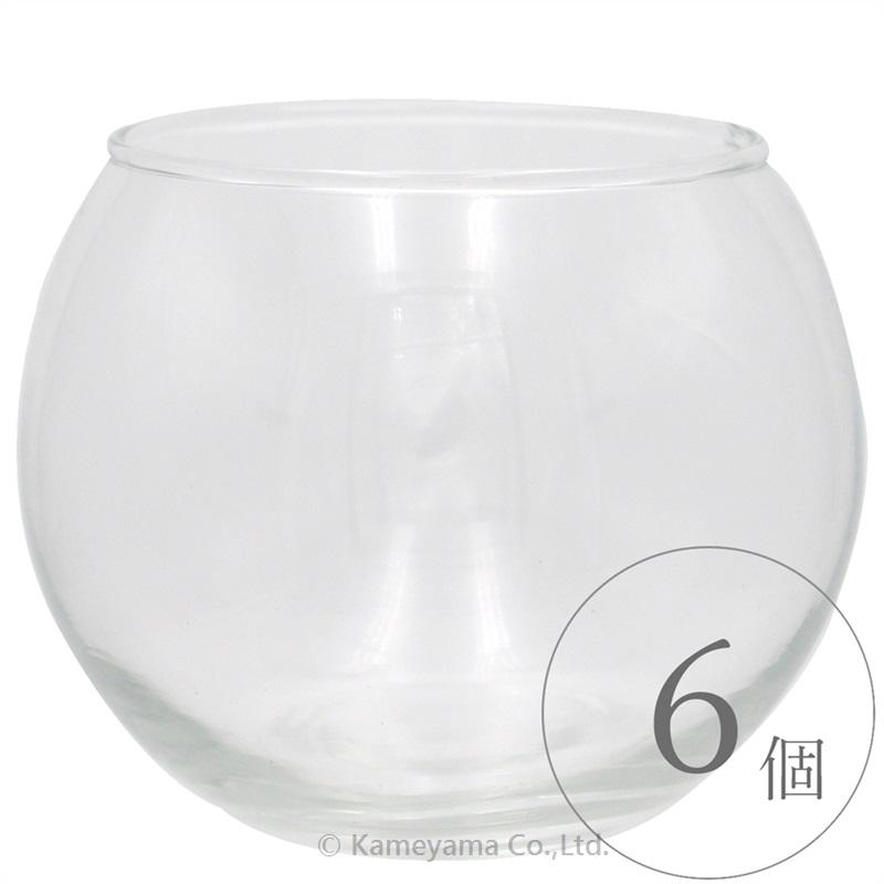 バブルボールグラスLフィルム付き 6個セット