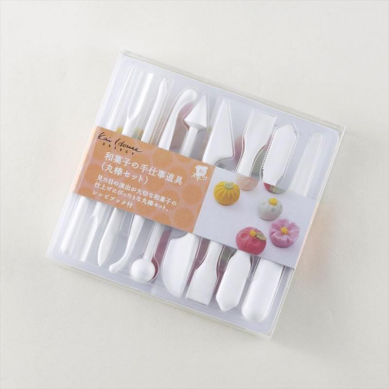 貝印 和菓子の手仕事道具 (丸棒セット)
