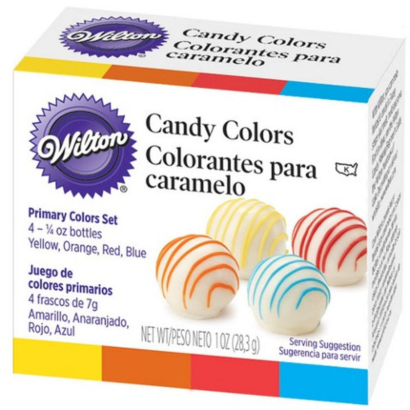 Wilton キャンディカラーセット プライマリー