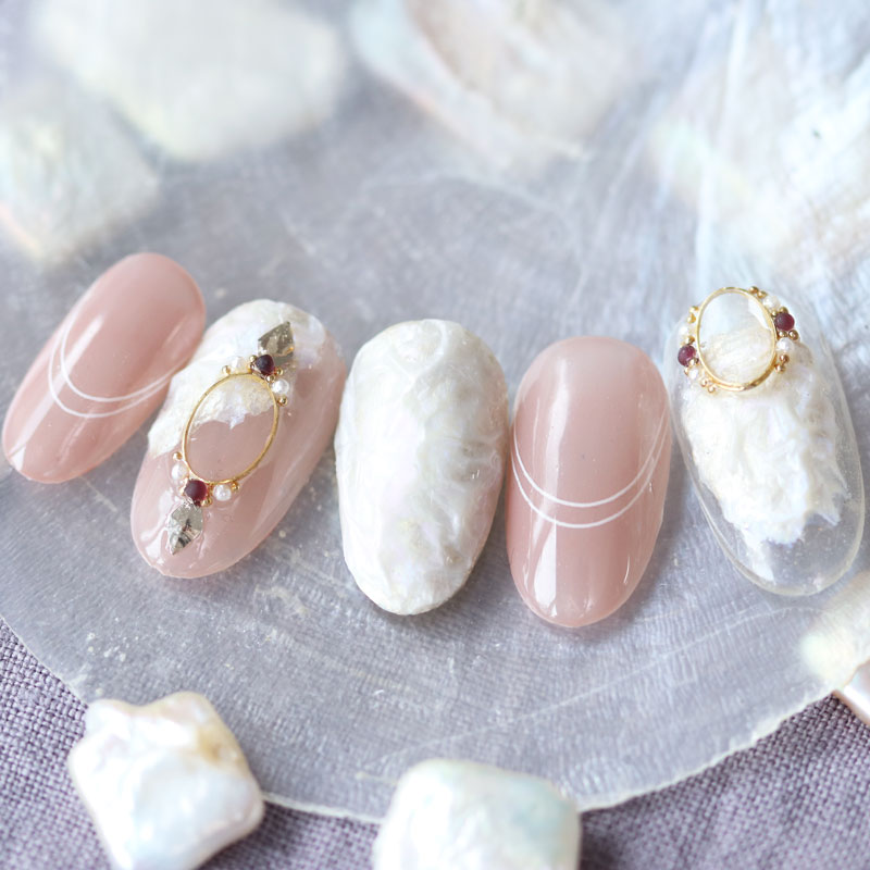 Baroque Pearl Nail