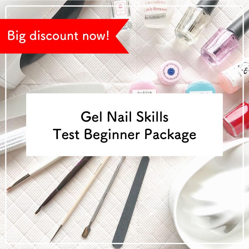 ★No international orders available.★Gel Nail Skills Test Beginner Package