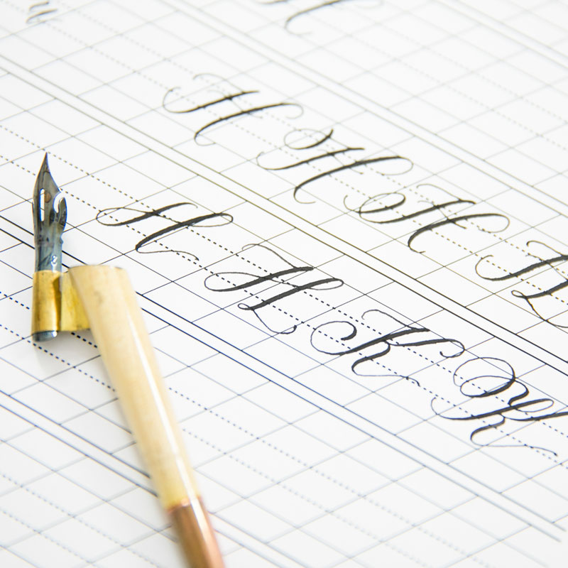 Creating Various Styles of Modern Calligraphy
