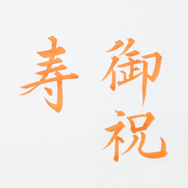 本日の祝儀袋 〜謝意を添えて 寿・御祝〜