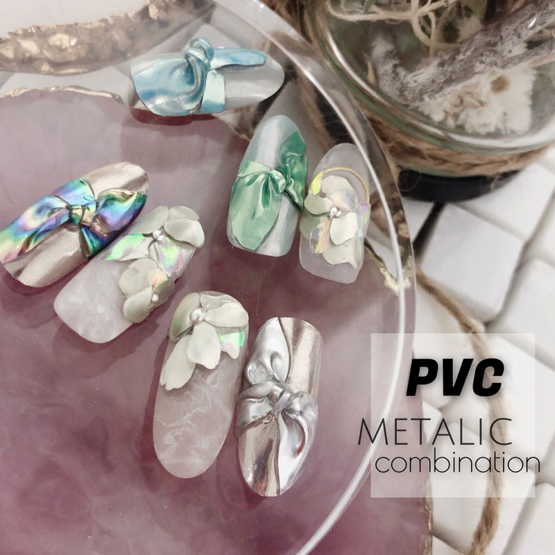 PVC metallic combination