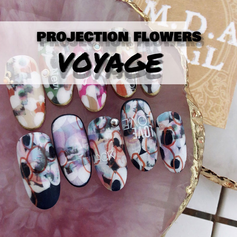 projection flowers / voyage