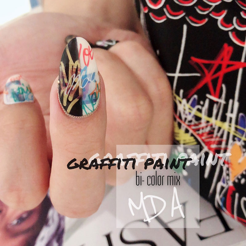 【特典映像】graffiti paint / bi-color mix