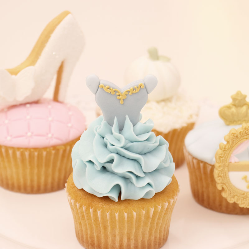 杯子蛋糕的装饰