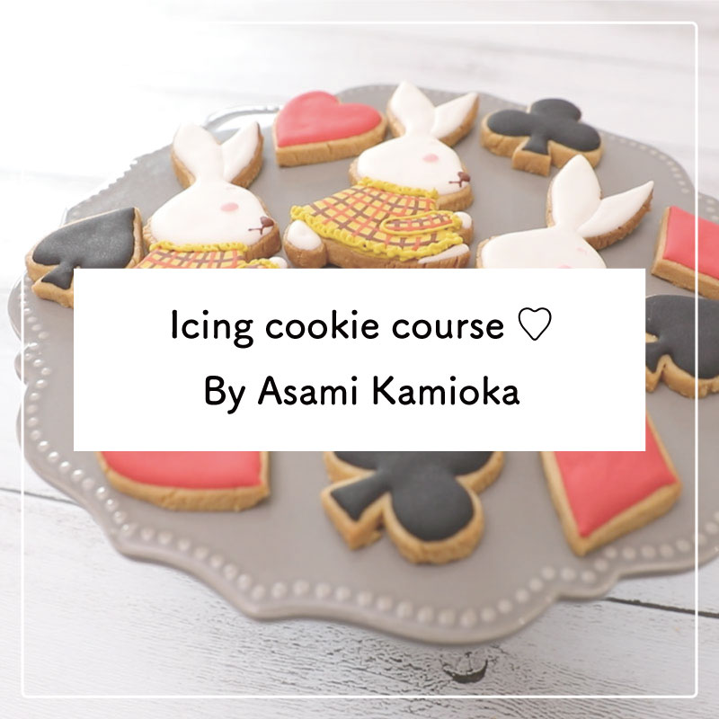 Icing cookie course ♡ By Asami Kamioka