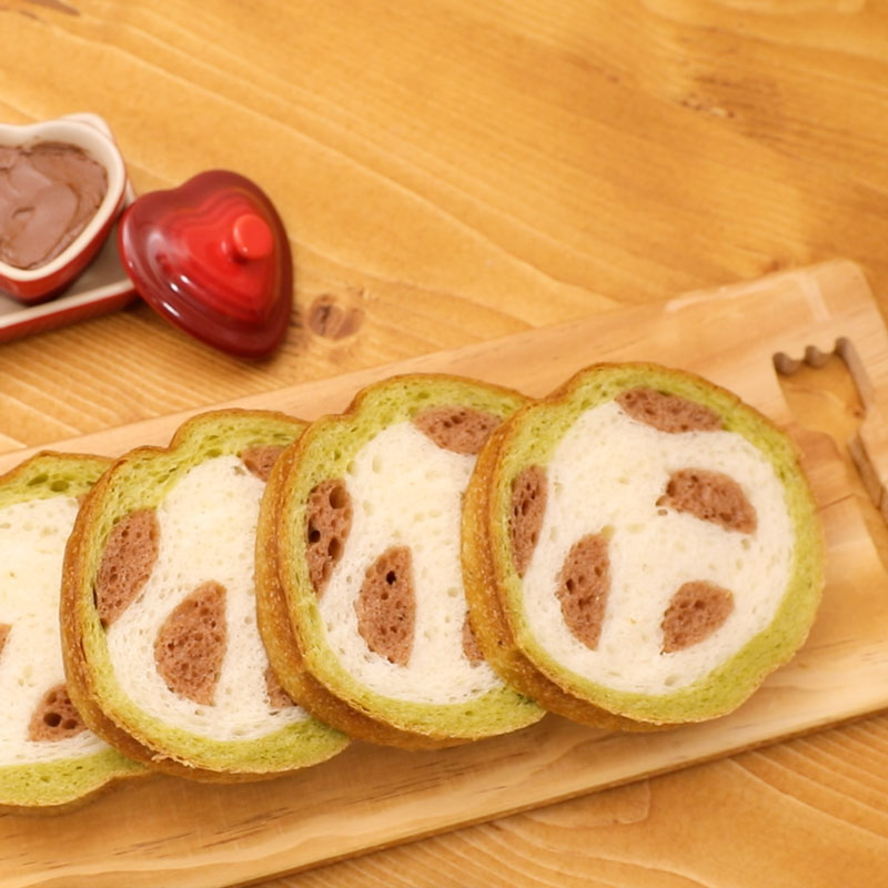 Cut Rock Panda Bread