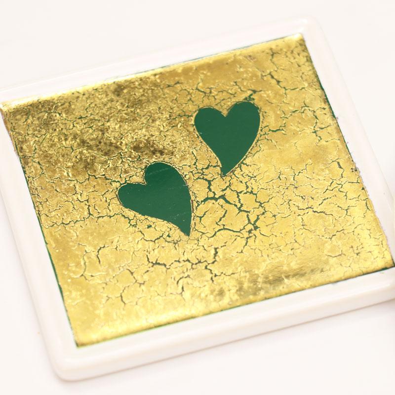 在金彩藝術中加入裂紋的簡單方法