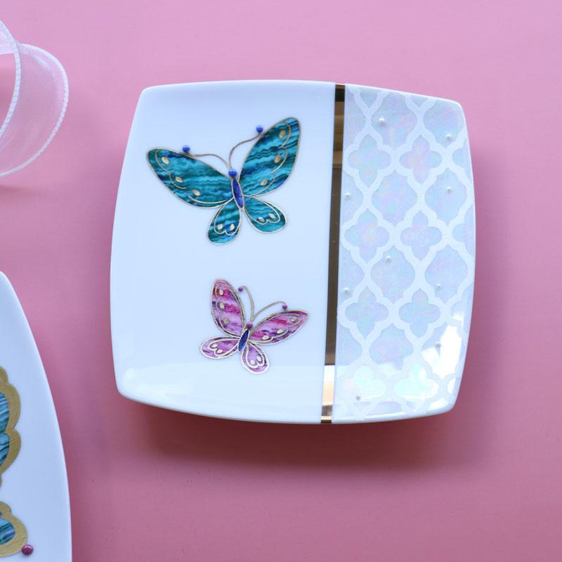 和の扇皿の3枚シリーズ