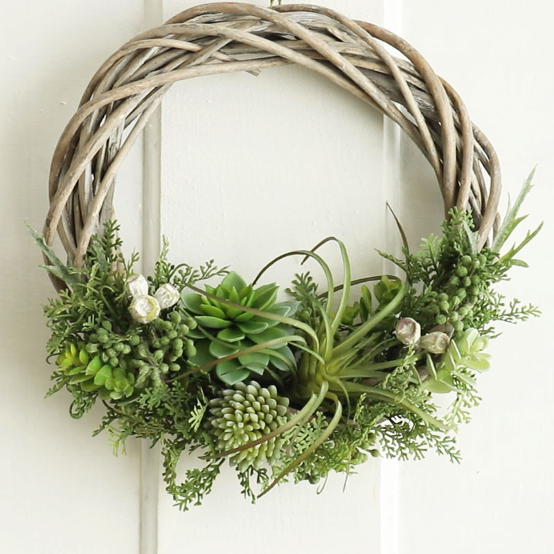 Succulent Plant Wreath
