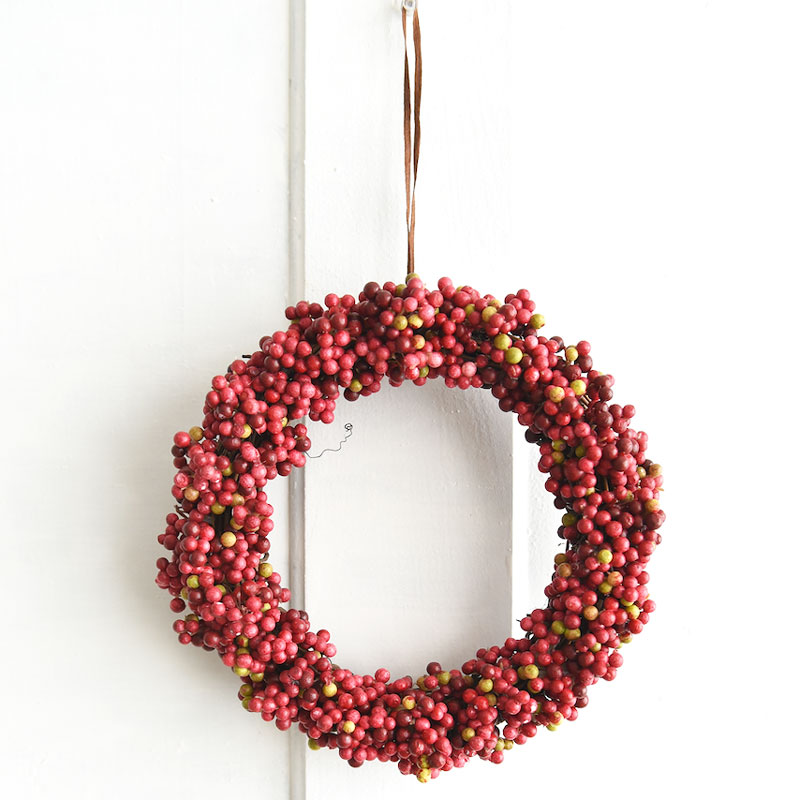 Red Fruit Wreath