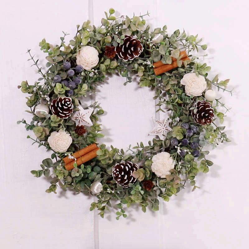 尤加利葉聖誕花環
