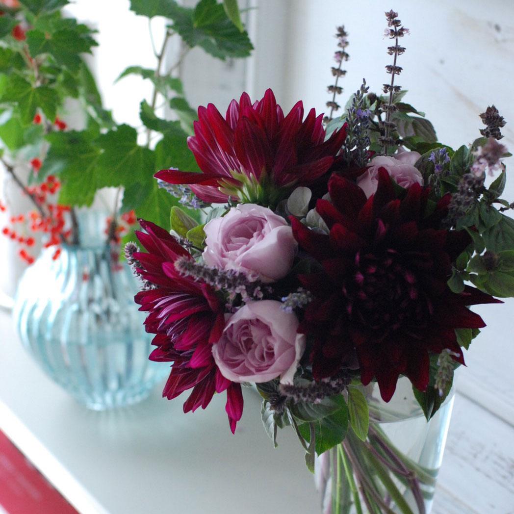 Hydrangea & Dahlia Bouquet