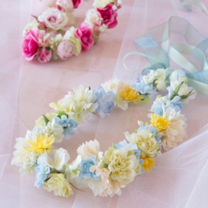 Super Easy Way to Make Soft Flower Crown