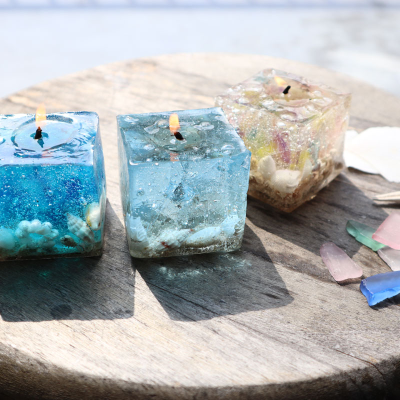 Sea Shell Box Candle