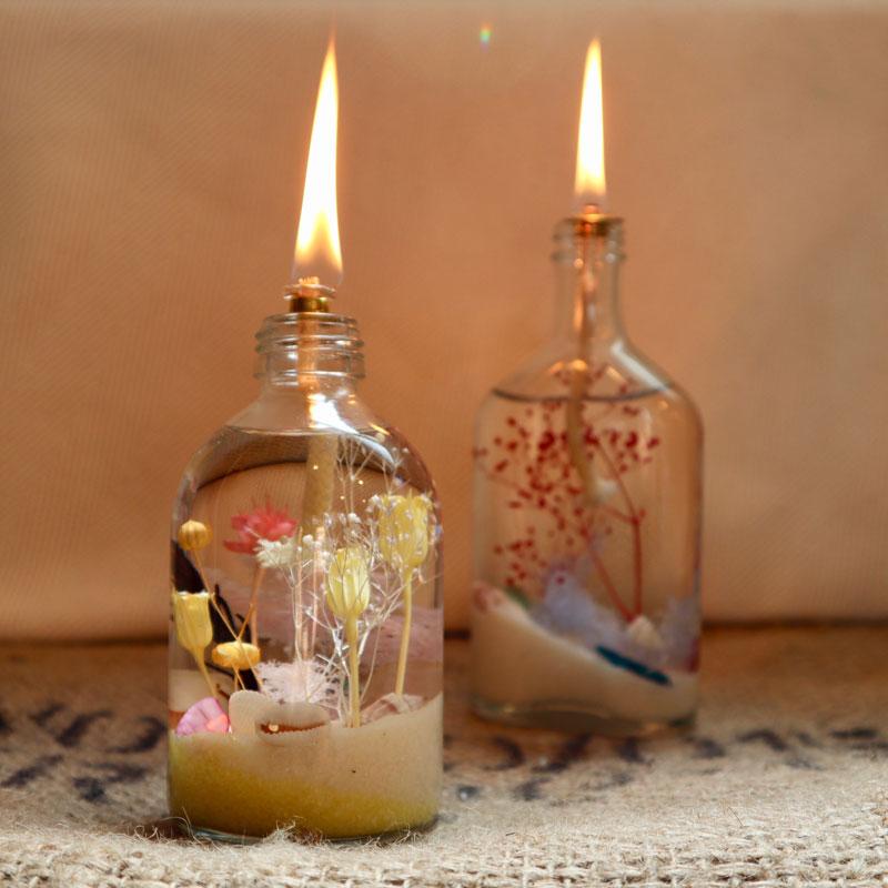 Aqua Oil Lamp