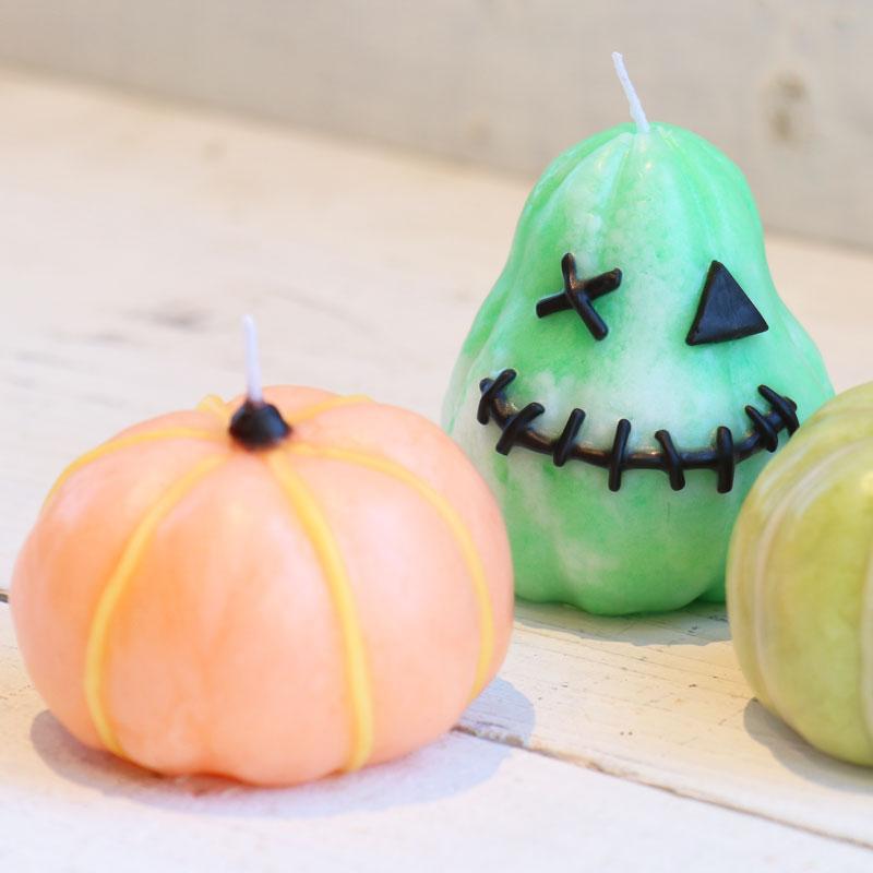 Hand-Kneaded Pumpkin Candle