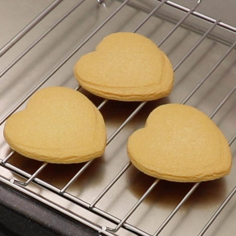 さっくりクッキーの作り方、焼き方のコツ