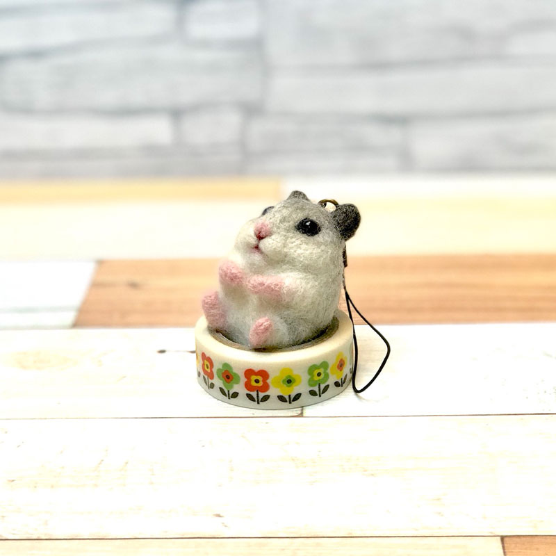 【Intermediate Lesson】Hamster Strap