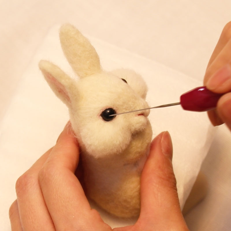 【Advanced Lesson】Rabbit Doll Day 4