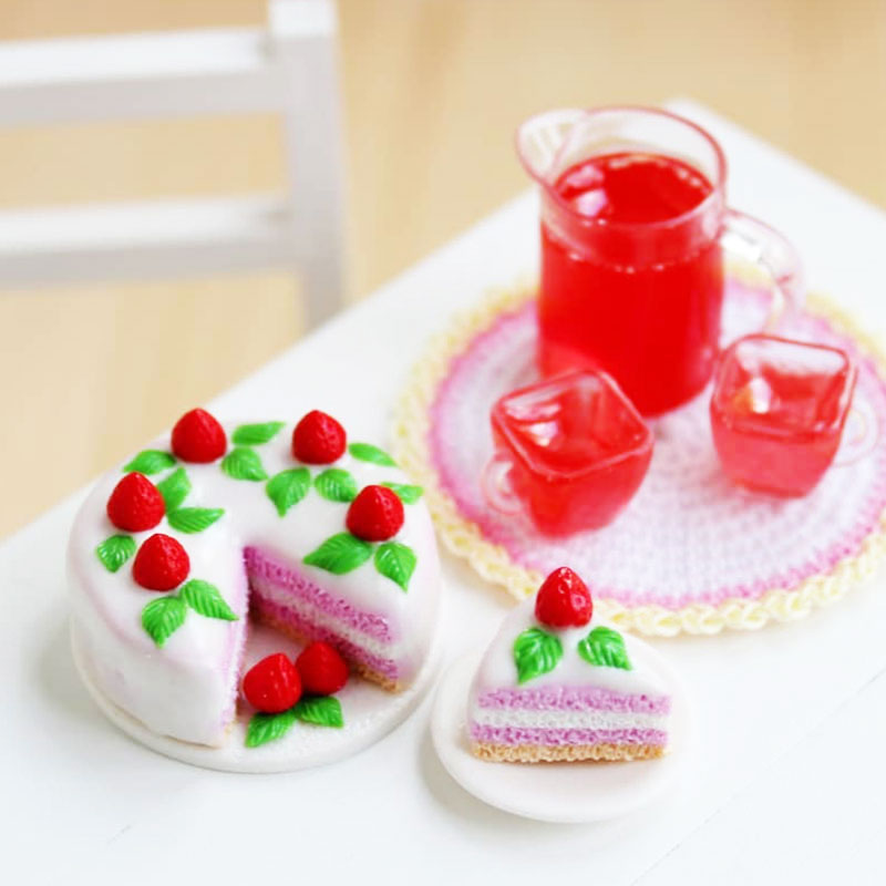 【In Russian】【Eng Sub】Miniature Cake of Polymer Clay