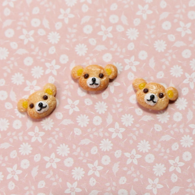 Miniature Cookie of Polymer Clay