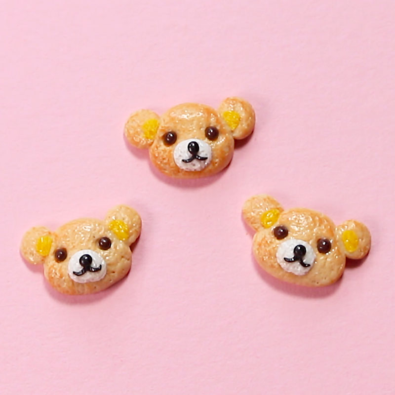 ポリマークレイで作るミニチュアクッキー