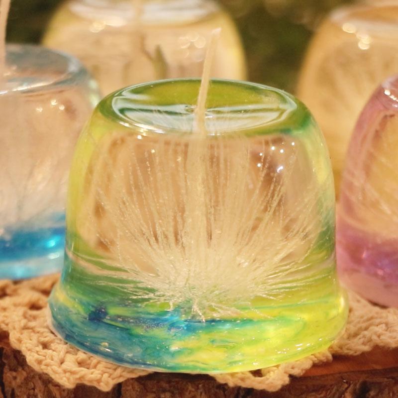 游丝造型蜡烛