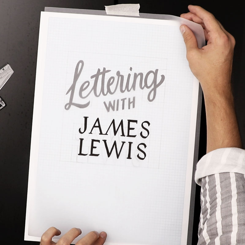 Hand Lettering with James Lewis