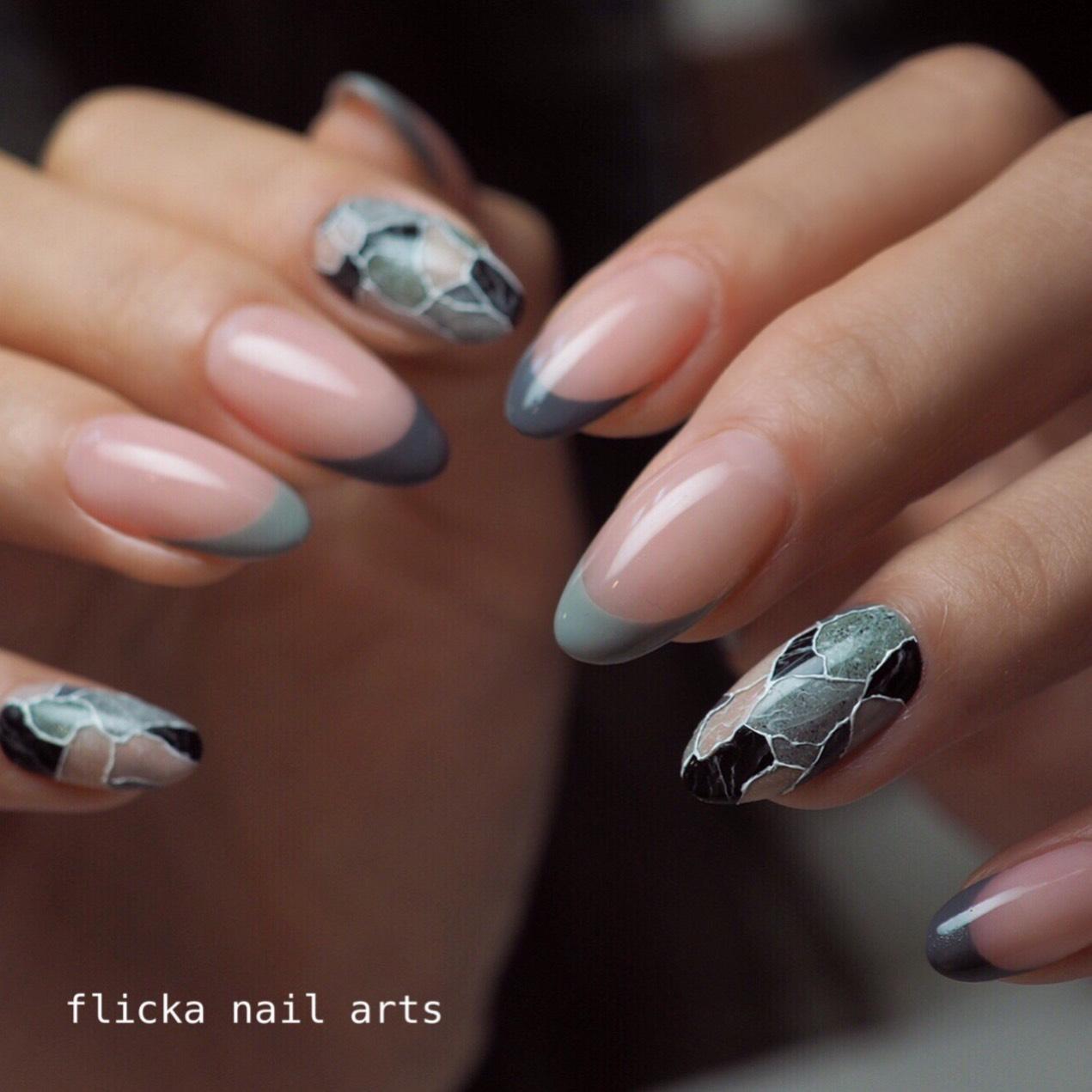 Terrazzo Nails