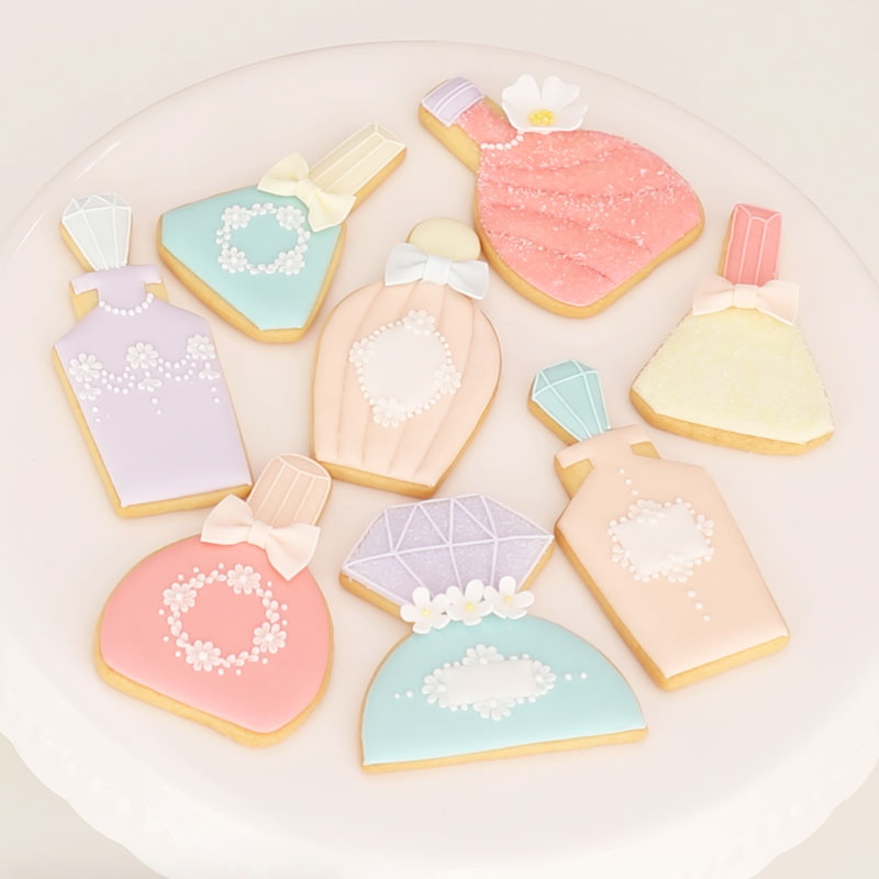 Icing Cookie Basics Set  -Perfume Bottle Ver.-