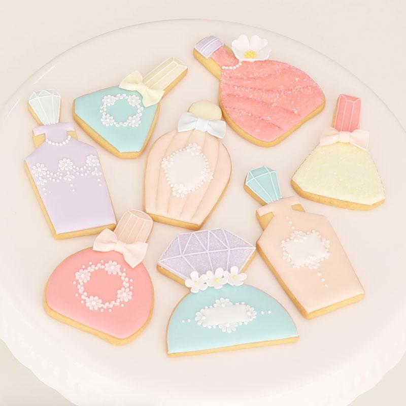 糖霜饼干的基础套餐 -香水瓶造型ver.-