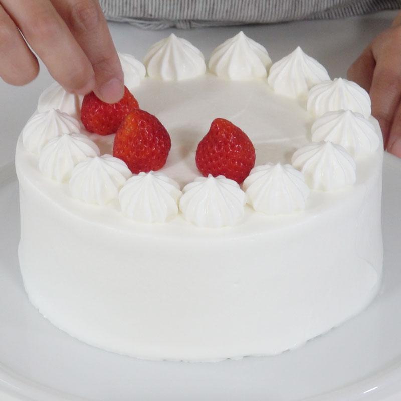 基本のケーキデコレーション