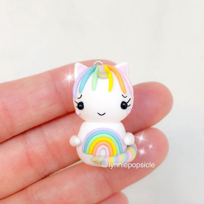 Kawaii Unicorn Charm