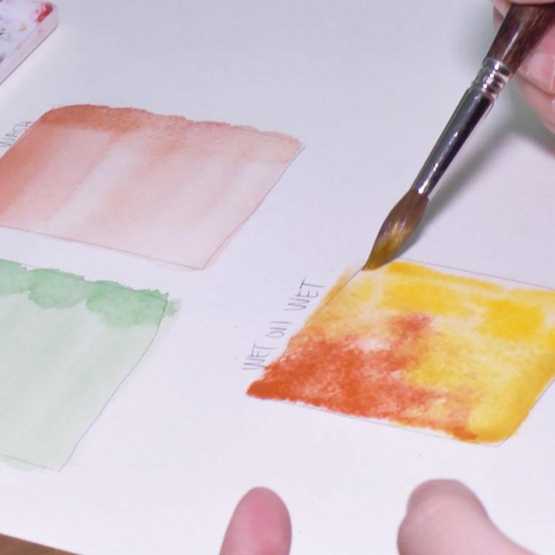 道具の紹介と基本の筆使い
