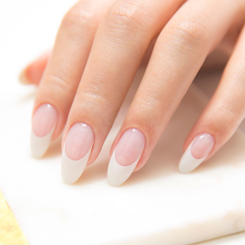 4. French Nails
