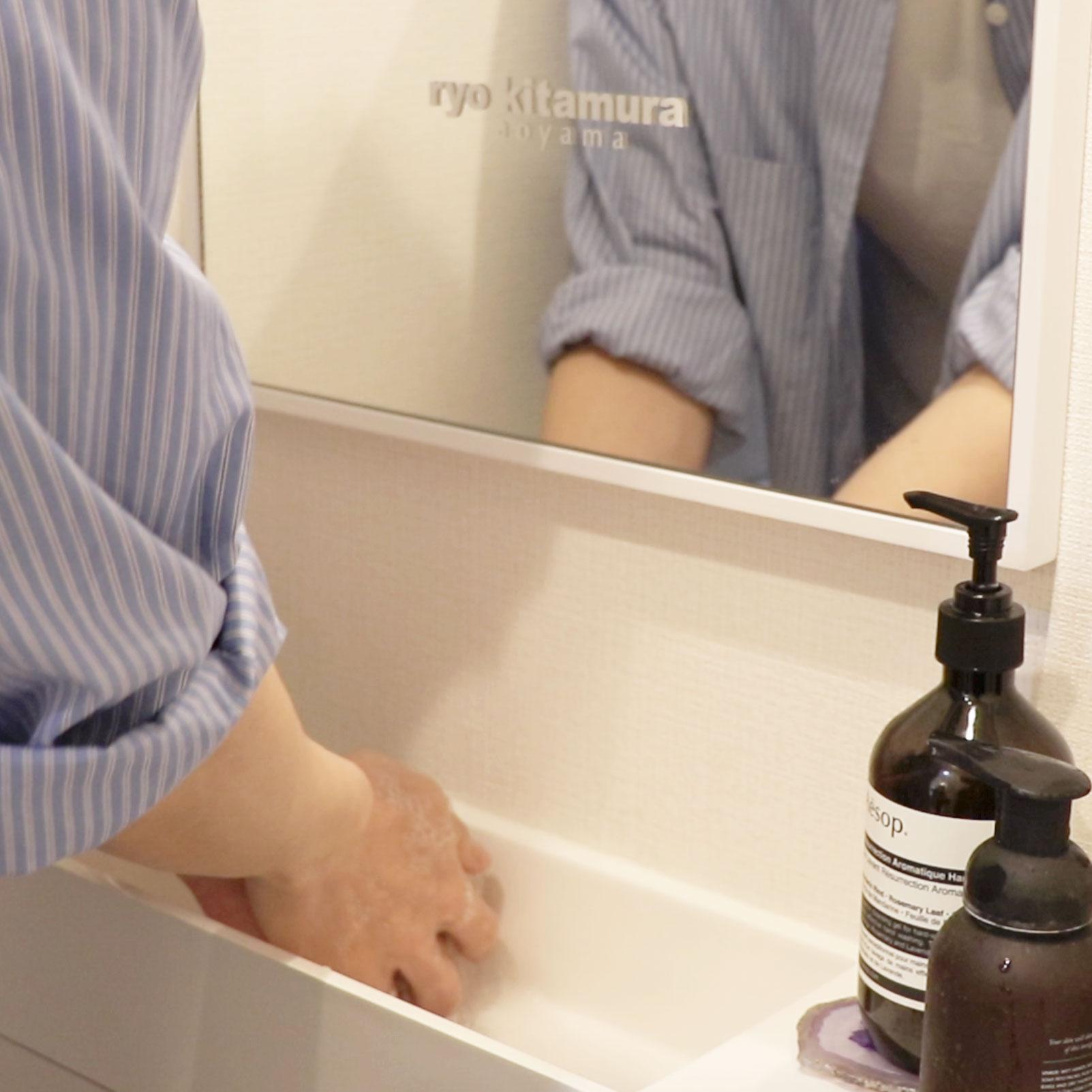 みんなで予防!正しい手の洗い方