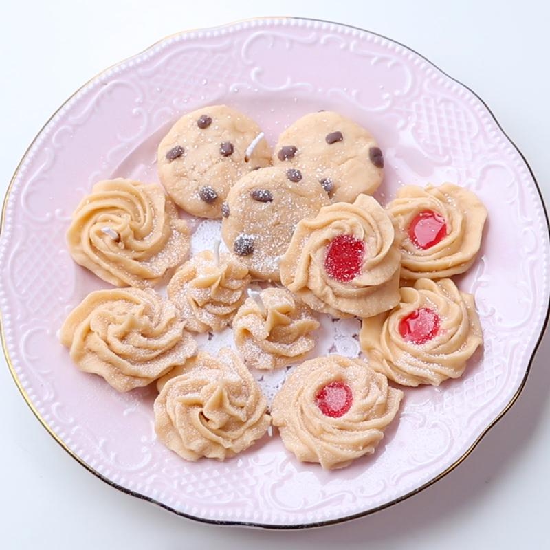 5종류 쿠키 캔들