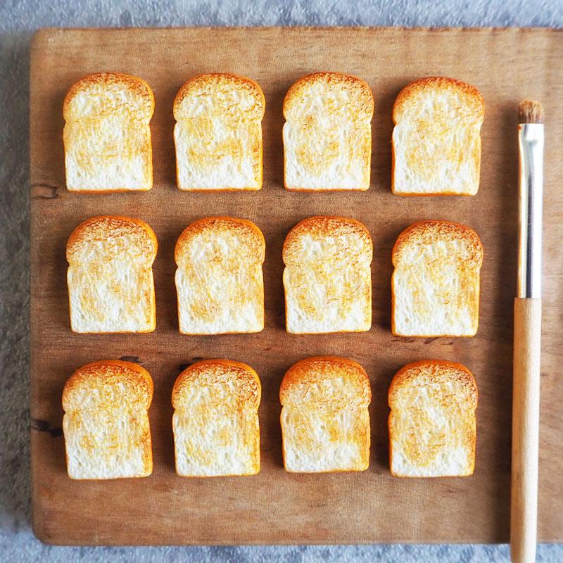 ミニチュアトーストの作り方