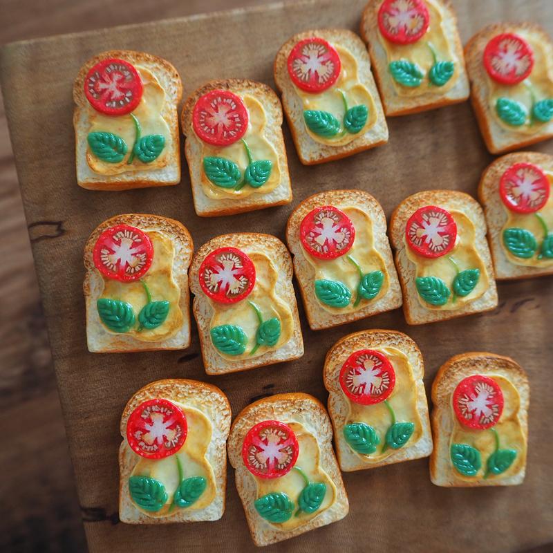 お花トーストの作り方
