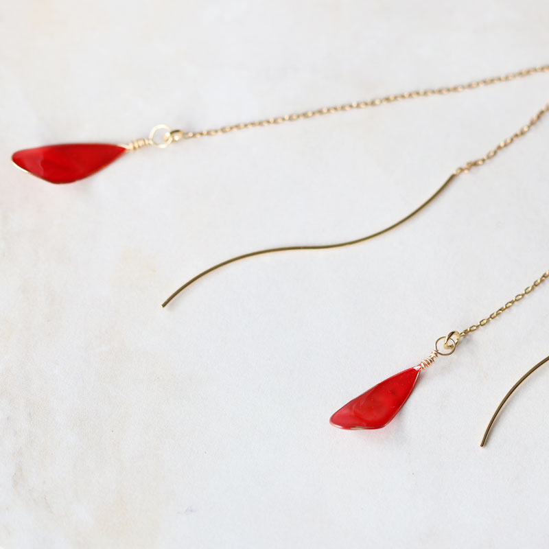 【Beginner】Teardrop Earrings