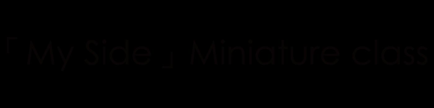 「My Side」Miniature class